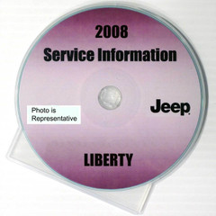 2008 Service Information Jeep Liberty