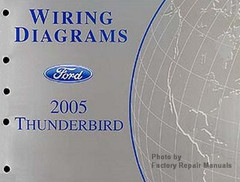 2005 Ford Mustang Electrical Wiring Diagrams Original Manual Factory Repair Manuals