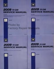 2009 Cadillac XLR/XLR-V Service Manual Volume 1, 2, 3, 4