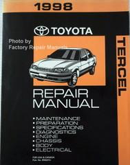 1998 Toyota Tercel Electrical Wiring Diagrams Original ...