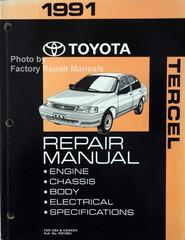 1991 Toyota Tercel Repair Manual