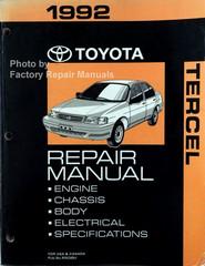1992 Toyota Tercel Repair Manual