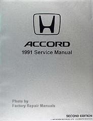 Honda Accord 1991 Service Manual