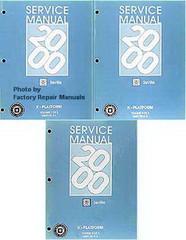 2000 Chevy Astro & GMC Safari Van Factory Service Manual ...