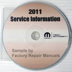 2011 Dodge Nitro Mopar Service Information Manual