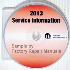 2013 Chrysler 200 Dodge Avenger Service Information