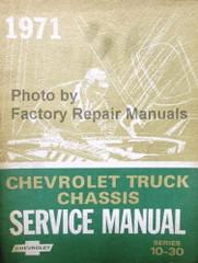 1971 Chevy Pickup Truck Suburban Blazer & Van Factory Shop Service Manual
