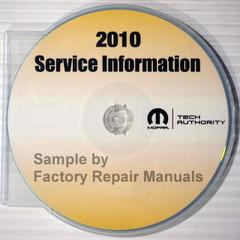 2010 Chrysler Sebring / Dodge Avenger Service Information