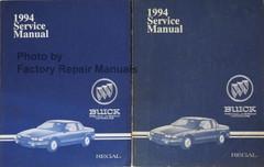 1994 Buick Regal Service Manual Volume 1, 2