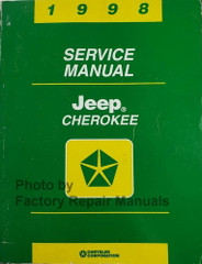 1998 Jeep Cherokee Service Manual