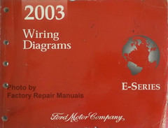 2003 Wiring Diagrams Ford E-Series