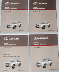 Lexus 2006 Repair Manual LX 470
