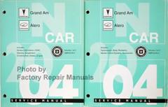 Pontiac Grand Am Oldsmobile Alero Service Manual Volume 1, 2