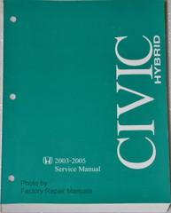 Honda 2003-2005 Service Manual Civic Hybrid