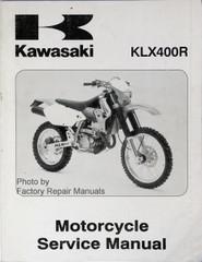 2003 Kawasaki KLX400R and 2000 Suzuki DR-Z400/DR-Z400E Factory Shop Service Manual