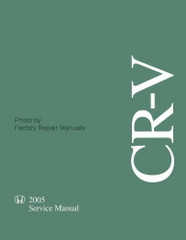 Honda 2005 CR-V Service Manual