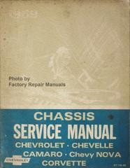 1969 Chevrolet Bel Air, Camaro, Corvette, Monte Carlo, Chevelle Chassis Service Manual