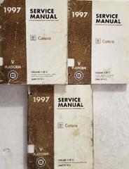 1997 Cadillac Catera Factory Service Manuals