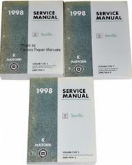 1998 Cadillac Seville Factory Service Manuals
