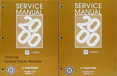 2000 Cadillac Catera Factory Service Manuals