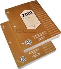 2001 Cadillac Catera Service Manual Volume 1, 2