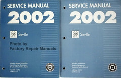 Service Manual 2002 Cadillac Seville Volume 1, 2