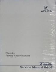 2004 - 2007 Acura TSX Factory Service Manual