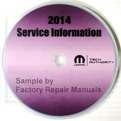 2014 Ram Promaster Service Information