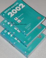 2002 Pontiac Grand Am & Oldsmobile Alero Factory Service Manuals