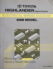 2008 Toyota Highlander Hybrid Wiring Diagrams
