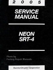 2005 Dodge Neon Factory Service Manual