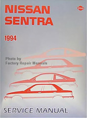 1994 Nissan Sentra Factory Service Manual