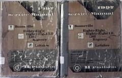 1997 GM Bonneville, LeSabre, 88, 98 Regency Factory Service Manual Volume 1 & 2