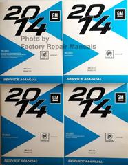 2014 Buick Verano Service Manual Volume 1, 2, 3, 4
