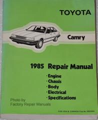 1985 Toyota Camry Factory Repair Manual