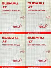 1988 Subaru XT Factory Service Manuals