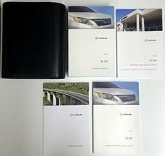 2011 Lexus RX350 Original Owner's Manual and Case