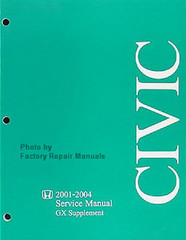 2001-2004 Honda Civic GX Service Manual Supplement