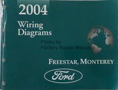 2004 Ford Freestar, Mercury Monterey Wiring Diagrams
