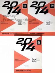 2014 Spark EV Service Manuals Volume 1, 2, 3 GM S-EV Platform