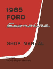 1965 Ford Econoline Van and Club Wagon Shop Manual