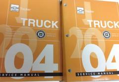 Chevrolet Tracker 2004 Service Manual