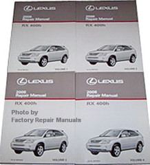 2008 Lexus RX400h Repair Manuals