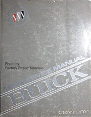 1992 Buick Century Service Manual