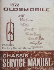 1972 Oldsmobile All Models Chassis Service Manual
