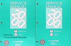 2000 Pontiac Grand Am, Oldsmobile Alero Service Manuals