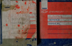 1992 Chevy Lumina Service Manual Volume 1, 2