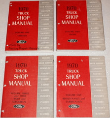 1970 Ford Truck Shop Manuals