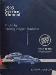 1993 Service Manual Buick Roadmaster