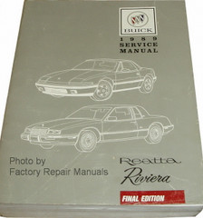1989 Buick Riviera and Reatta Service Manual